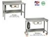 STACKABLE DRAWER FOR WELDED WORKBENCHES WITH BACKSTOPS