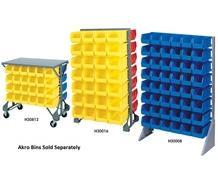 BIN SYSTEM RAIL RACKS & BIN CARTS