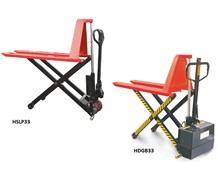 HIGH LIFT/SCISSOR LIFT PALLET TRUCKS